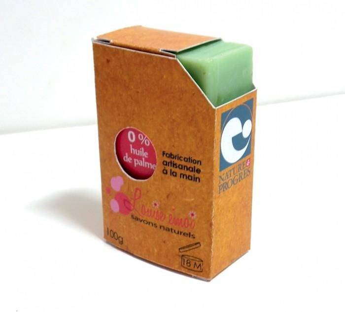 Packaging du savon Louise emoi