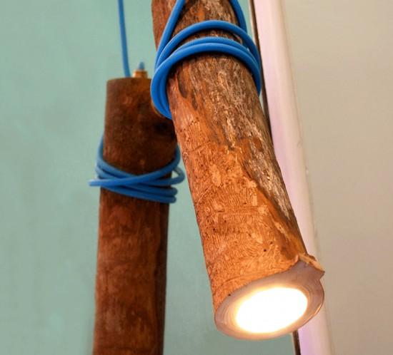 La Lampe, la branchée suspendue