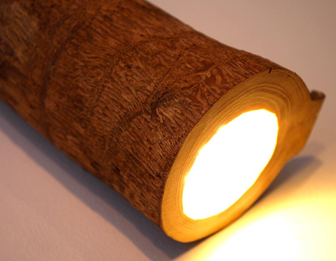 zoom de la lampe, La branchée