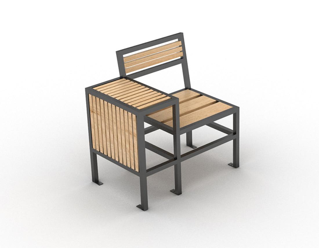 mobilier design de la gamme geometrik