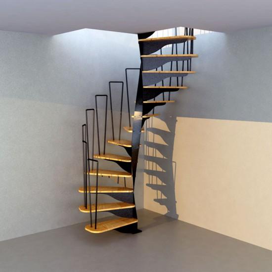 Escalier aerial en 3d