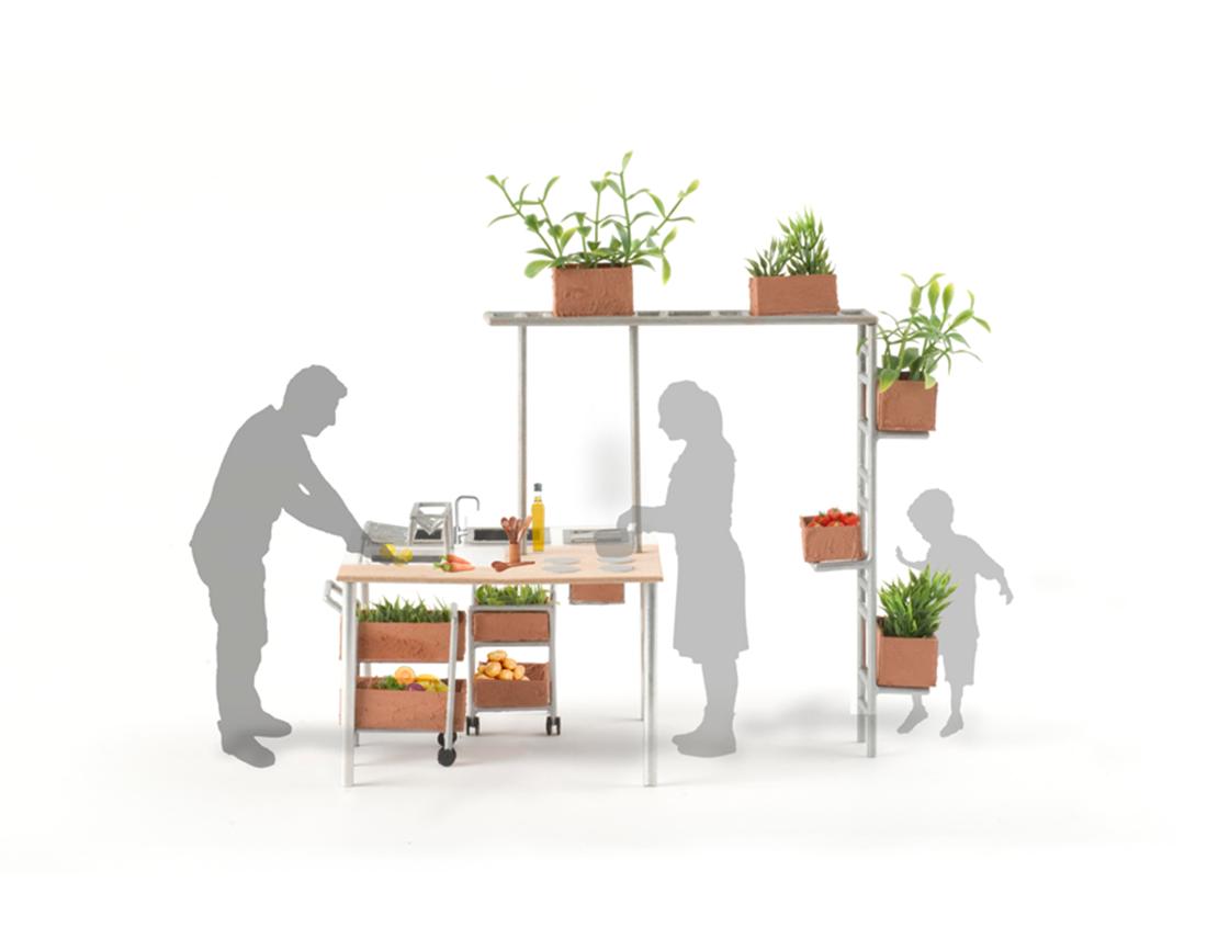 Cuisson dans la Biocosme Cuisine