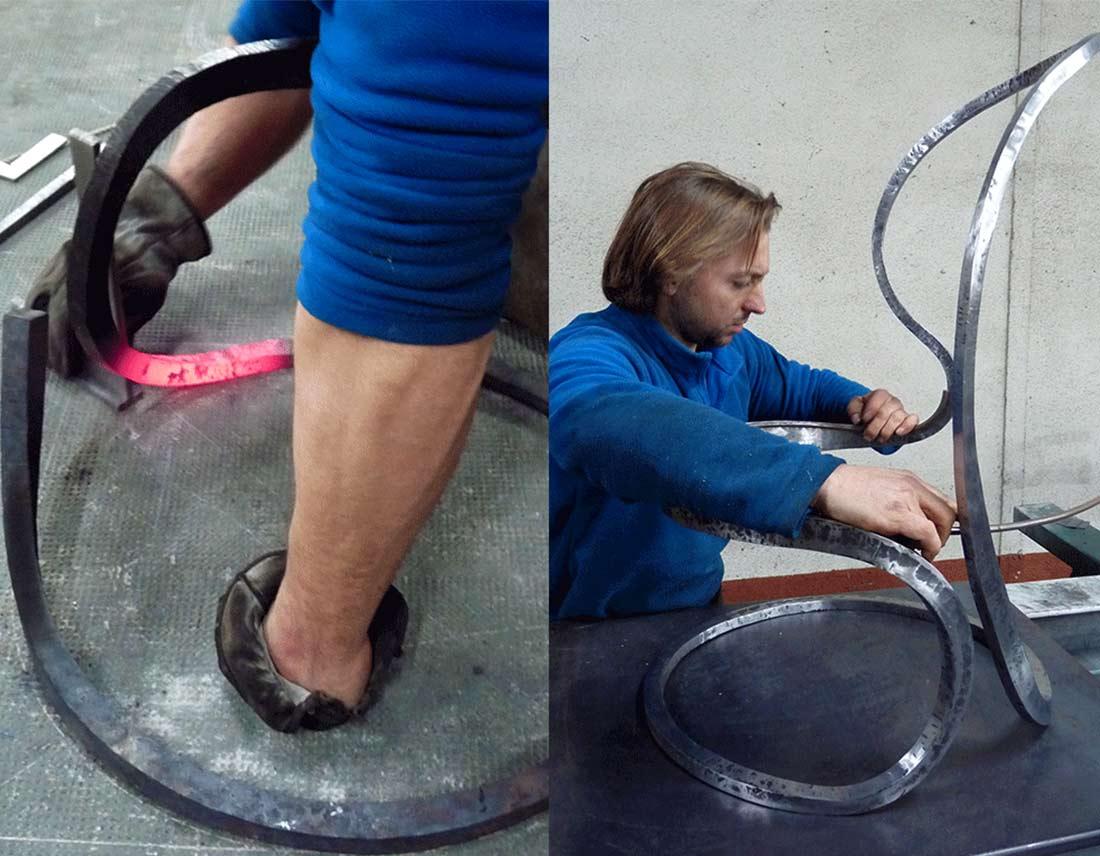 méthode de fabrication pour le fauteuil Elvi