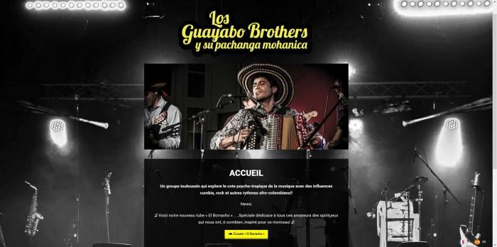 Présentation_site_losguayabobrothers.com_imagefixe
